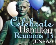 """Celebrate Hamilton College Reunions 2013"""
