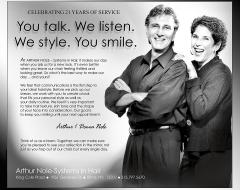 """""""Arthur Nole Systems in Hair"""""""