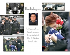 """Officer Thomas Lindsay Documentary Web Site"""