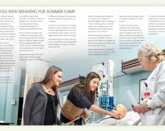"""""""EBCBS Annual Report 2011: Nursing Summer Camp"""""""