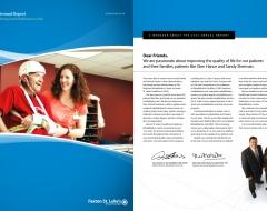 """Faxton Rehab Annual Report 2010"""