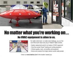 """No HVAC Equipment in Alien To Us"""